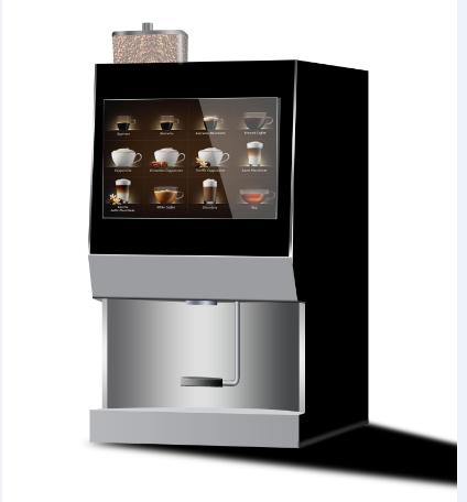 广州麦凯斯全自动咖啡机图片
