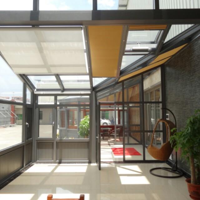 来自唐鹏发布的供应信息:佛山南海区大沥镇铝合金门窗、隐藏合页大折... - 专业阳光房