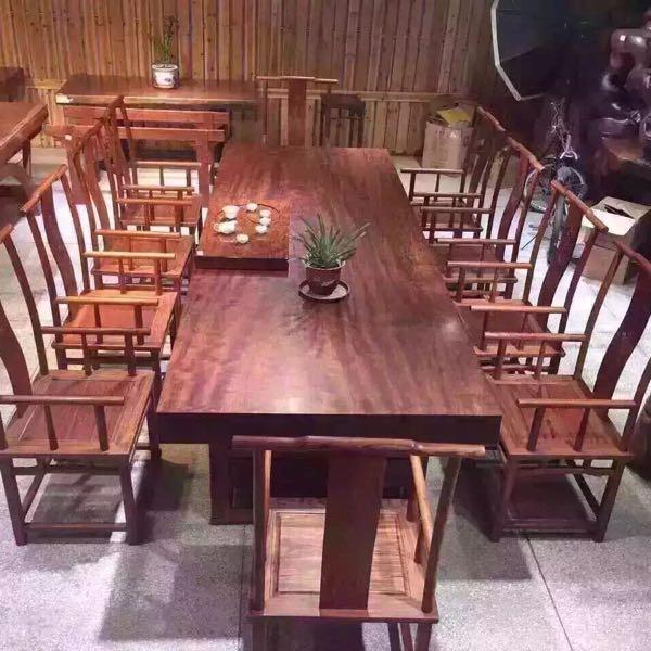 来自宏捷发布的供应信息:主营非洲实木大板桌,巴花跟非洲楠木大板桌... - 福州古木缘贸易有限责任公司